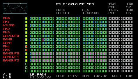 PSPSeq screenshot